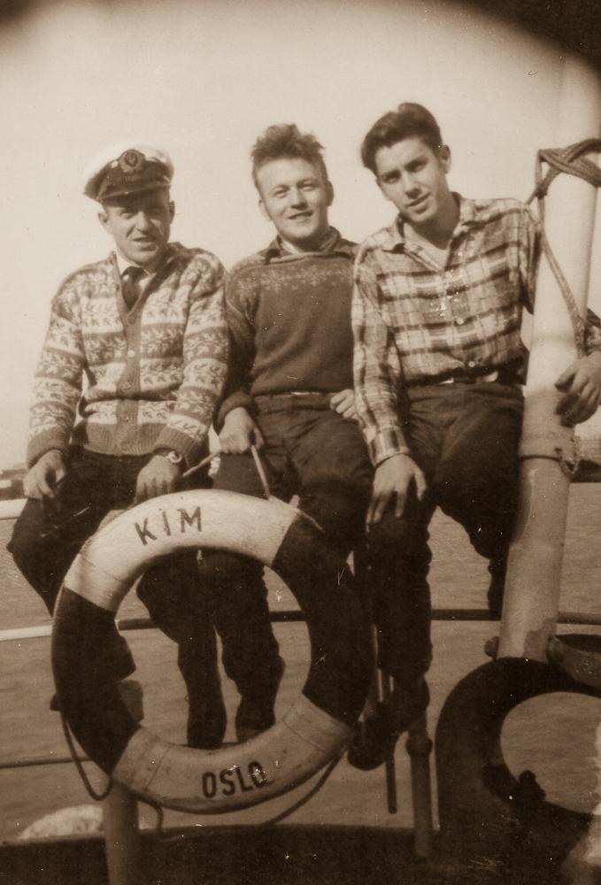 Tre sjøfolk